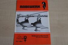 160938) Rabewerk Untergrundlockerer Prospekt 08/1976