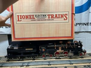 MTH Standard Gauge Tinplate Lionel Lines Black 400E Steam Engine w/ PS.3 Boxed