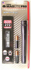 Maglite SP2P09H Mini Mag 2-Cell LED PRO Flashlight 272 Lumens Gray Free Ship