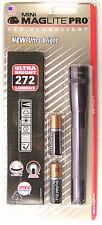 Maglite SP2P09H Mini Mag 2-Cell LED PRO Flashlight 272 Lumens w/Holster Gray