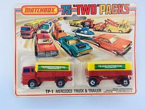 Matchbox 900 TP1 Mercedes Transcontinental  Truck