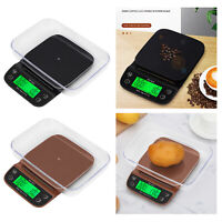 Portable Kitchen Digital Coffee Scale Timer Digital Kitchen Food Kitchen Scale
