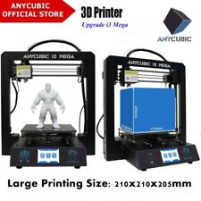 "Anycubic i3 Mega 3D drucker 3.5"" TFT Grosse Drucke High Precision Full Metal"