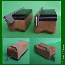 TWO Guitar Fret Bevel Files. 35 & 90 Degree Diamond Files and Beech Handle TF065