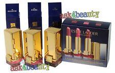 Estee Lauder Travel Exclusive Mini 3 Pure Color Lipstick (17,16,18) New In Box