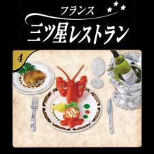 Rare! Re-ment Miniature France Three-Star Restaurant No.4 Lobster Salad