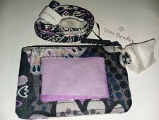 Vera Bradley Mimosa Medallion Zip ID Case Badge Holder And Lanyard New