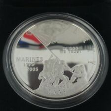 2005 Marine Corps 230th Anniversary Silver Dollar Proof