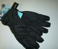 Isotoner mens SLEEKHEAT Cold Weather touch screen winter gloves - Black -XL