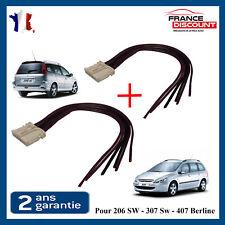 Conector Blanco Faro Trasero Peugeot 407 Berlina y 307 Sw Break