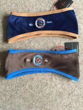 Covalliero Headband / Ear warmer - Navy / Tan - Seal Brown / Blue - RRP £9.99