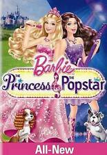 Barbie: The Princess  the Popstar (DVD, 2012)