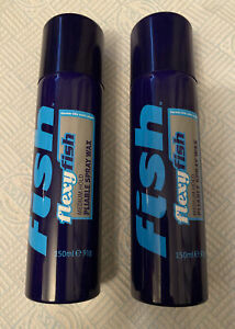 FISH ORIGINAL FLEXY FISH MEDIUM HOLD PLIABLE SPRAY WAX 2 x 150ML DISCONTINUED