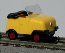 TT Gleiskraftrad GKR Typ 1 Schienentrabi Bausatz gelb / hellgelb / blau Kres NEU