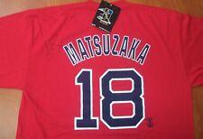 Majestic Boston Red Sox Baseball Daisuke Matsuzaka Autographed Signed T-Shirt XL