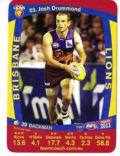 AFL Teamcoach 2011 COMMON CARDS New con 2 for $1