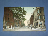 VINTAGE NORTH MARKET STREET JOHNSTOWN  NEW YORK   POSTCARD