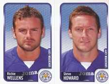 158 R.WELLENS/S. HOWARD LEICESTER CITY.FC STICKER FL CHAMPIONSHIP 2010 PANINI