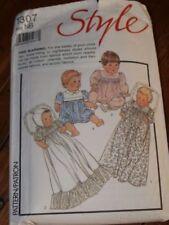 Infant Vintage Cut Sewing Patterns