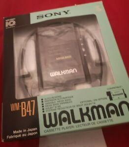 Sony Walkman WM-B47 10th anniversary with turbo headphones and box new condition
