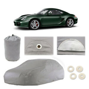 Porsche Cayman 4 Layer Car Cover Fitted Outdoor Water Proof Rain Snow Sun Dust