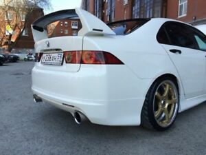 Rear Mugen Style Spoiler(Wing) for Honda Accord 7 VII / Acura TSX CL7 CL9 03-08
