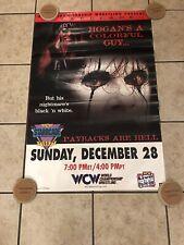 VINTAGE WCW STARRCADE 1997 97 HOGAN STING ORIGINAL POSTER WWE WWF NWA RARE 36X24