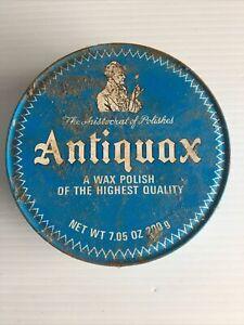 Vintage ANTIQUAX Original Wax Polish Fine Wood Care