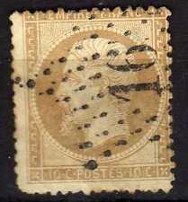 Francia ( France ) : 1862 10 Centimes Napoleon III ( used )