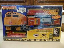 Rail King Ready-to-Run McDonald's Fast Freight Express O Gauge Train Set