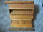 Antique 13 Brass Sub Base Mechanism Box Reed Pump Parlor Organ Victorian Parts