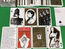 Vintage 1986 GRIMAUD Non Standard ** OSCAR WILDE ** Playing Cards FANTO Art