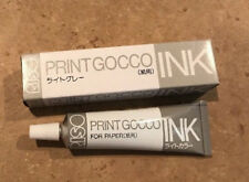 NEW Riso Print Gocco Ink For Paper Screen Printing 40cc Light Grey FREE SHIP US