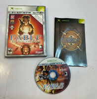 Platinum Hits Fable The Lost Chapters - Complete Original Xbox Game Test Works