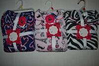 Total Girl Girls  2 Pcs. Sleep Set  S izeXS 4/5  M 8 NWT Hearts Zebra Love Paris
