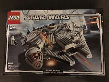 Lego Star Wars 4504 Millenium Falcon Set 2004 New in sealed box *Rare & Retired*