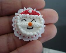 Santa Christmas Cake Dollhouse Miniature Food Bakery Holiday Season X'mas 8