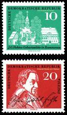 EBS East Germany DDR 1959 Johann Gottlieb Fichte Michel 889-890 MNH**