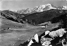 BR17786 Col des Aravis vue genrale du col et la chaine du mont blanc   france