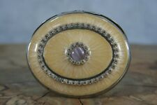 More details for vintage compact hand mirror (477)