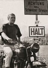 THE GREAT ESCAPE STEVE MCQUEEN POSTER ART PRINT A3 PRINT HAL1358