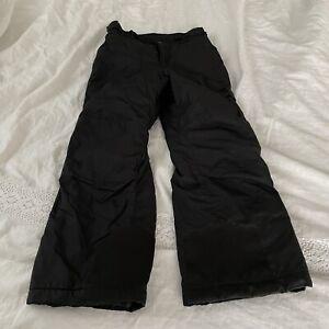 Columbia Ski Pants Black Youth Kids 10/12 Vertex Insulated Snow Boys Girls