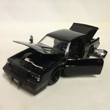 "FAST FURIOUS DOM'S 1987 BUICK GRAND NATIONAL 8.5"" DIECAST 1:24 JADA TOY BLACK"