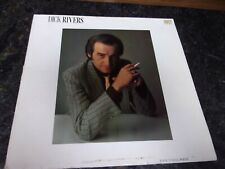 VINYL 33 TOURS DICK RIVERS - ROCK N' ROLL POETE 1983