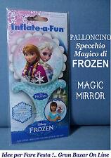 PALLONCINO FROZEN Specchio Magico in MYLAR SI GONFIA AD ARIA COMPLEANNO FESTA