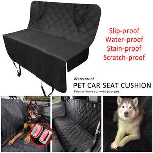 Large Waterproof Dog Car Seat Cover Pet Boot Liner Protector Rear Back Hammock