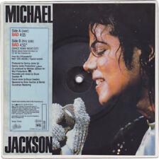 """Michael Jackson BAD Disque carré 45t 7"""" Vinyl Record Square PICTURE DISC 1988"""