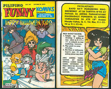 2000 PILIPINO FUNNY KOMIKS For Children TRICK OR TREAT Comics # 1167