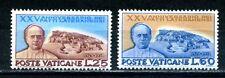 1954 set of lateran treaties SG 197 & 198 mint hinged