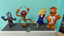 Muppets figures   Miss Piggy, Animal, Fozzie and Gonzo